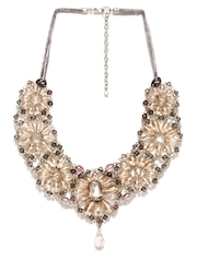 Adrika Pink & Peach-Coloured Necklace