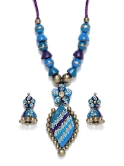 Adrika Multi-Coloured Jewellery Set