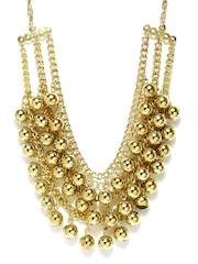 Adrika Gold Toned Necklace