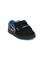 Airwalk Boys Black Skate Casual Shoes
