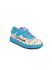 Airwalk Girls Blue & White Sneakers