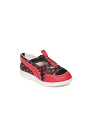 Airwalk Kids Red & Black Sandals