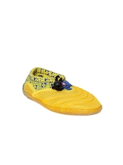 Airwalk Kids Yellow Casual Shoes
