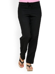 Alba Women Black Lounge Pants PJ009B
