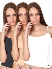 Alba Pack of 3 Camisoles