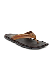 Alberto Torresi Men Brown Leather Sandals