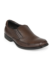 Alberto Torresi Men Brown Semi-Formal Shoes