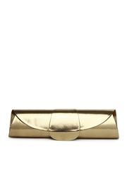 Alessia74 Antique Gold-Toned Clutch