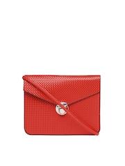 Alessia74 Red Clutch