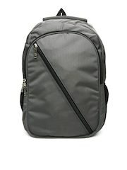 Alessia74 Unisex Grey Backpack