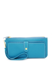 Alessia74 Women Blue Wallet