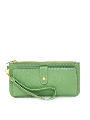 Alessia74 Women Green Wallet