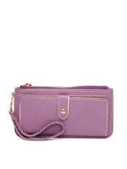 Alessia74 Women Purple Wallet