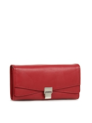 Alessia74 Women Red Wallet
