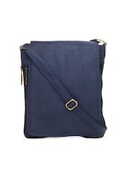 Alessio69 Blue Sling Bag