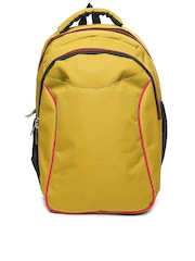 Alessio69 Men Mustard Yellow Backpack