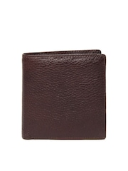 Alessio69 Men Brown Leather Wallet