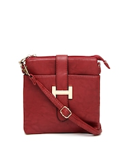 Women Red Sling Bag Alessio69