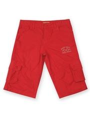 Allen Solly Junior Boys Red 3/4th Shorts