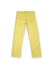 Allen Solly Junior Girls Yellow Jeans