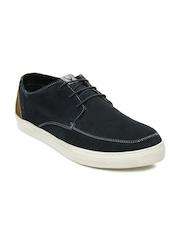Allen Solly Men Navy Suede Casual Shoes