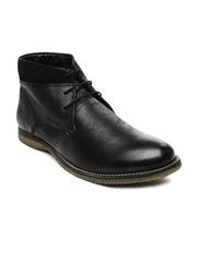 Allen Solly Men Black Casual Shoes