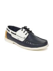 Allen Solly Men Navy Boat Shoes