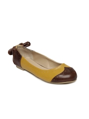 Allen Solly Women Mustard Yellow Ballerinas