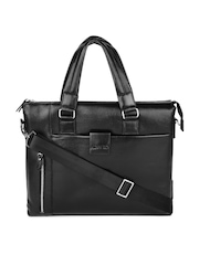 Alvaro Castagnino Unisex Black Laptop Bag