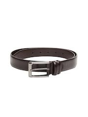 Alvaro Castagnino Men Brown Leather Belt