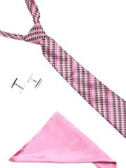 Alvaro Castagnino Men Pink Accessory Gift Set