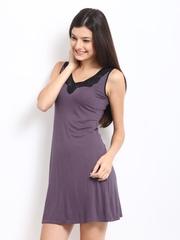 Amante Purple Nightdress SGVM01