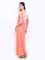 Amari West Peach Coloured Maxi Dress