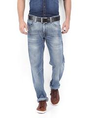 American Bull Men Blue Regular Fit Jeans