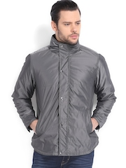 American Bull Men Grey Padded Jacket
