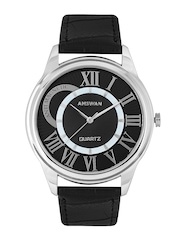 American Swan Men Black Dial Watch 141ATWWHMAS19