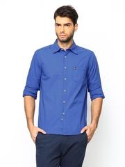 American Swan Men Blue Casual Shirt