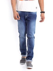 American Swan Men Blue Fort Kent Slim Fit Jeans