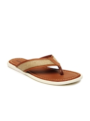 American Swan Men Brown Sandals