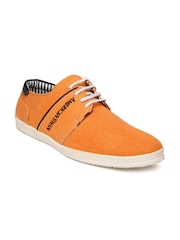 American Swan Men Orange Casual Shoes