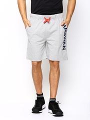 American Swan Men Grey Shorts