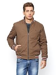 American Swan Men Brown Jacket