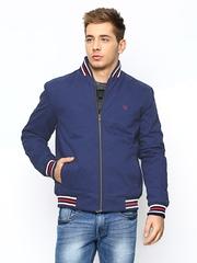 American Swan Men Blue Jacket