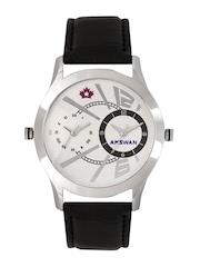 American Swan Men White Dial Watch 141ATWWHMAS16