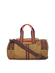 American Swan Unisex Brown Woods Duffle Bag