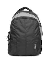 American Tourister Unisex Black & Grey Backpack