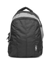 American Tourister Unisex Black & Grey Backpack