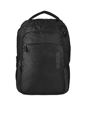 American Tourister Unisex Black Citipro Laptop Backpack