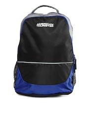 American Tourister Unisex Black Code Backpack