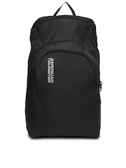 American Tourister Unisex Black Jiffy Ripstop Backpack